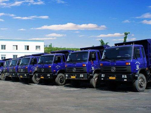 无锡运输公司车辆展示